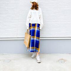 プチプラ高見え/プチプラファッション/ママコーデ/春コーデ/しまパト/ジュートバッグ/... 今日の1枚♡しまむら・USAコットンオー…