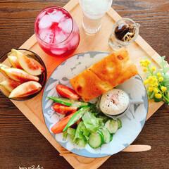 無花果/赤紫蘇ジュース/LIMIAごはんクラブ/おうちカフェ/ワンプレートごはん/ワンプレートモーニング/...  おはようございます。 夏の間に 手仕事…