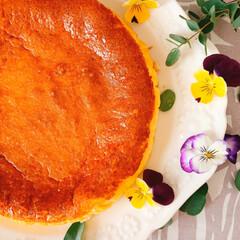 暮らしを楽しむ/LIMIAごはんクラブ/手作りおやつ/おうちカフェ/ベイクドチーズケーキ/簡単ケーキ/... ベイクドチーズケーキ  今日は、お友達の…(2枚目)