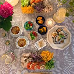 晩御飯の記録/豊かな暮らし/冷やし中華/冷しゃぶ/常備菜/作り置きおかず/...  *  おはようございます  新潟で 大…