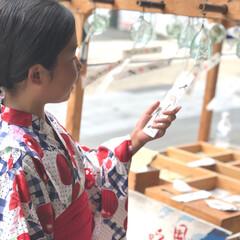 ガラス/日本の夏/涼/風鈴/和風/夏のお気に入り/... 今日は夕立ち後には涼しい風が . 夏も終…