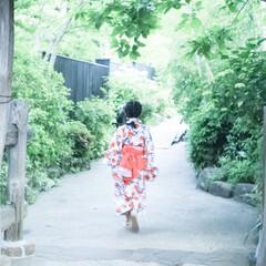 子供とお出かけ/浴衣/暮らしを楽しむ/日帰り旅行/箱根/新緑/... . 初夏の箱根へ . 初の浴衣に娘もワク…