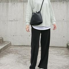 アラフォーコーデ/アラフォーファッション/アラフォーママ/ママコーデ/ママファッション/長身コーデ/... 夕方寒い時はまだまだ長袖の洋服が必要です…