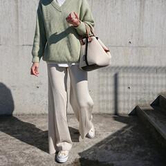 30代コーデ/30代ファッション/アラフォーファッション/アラフォーコーデ/アラフォーママ/アラフォー/... 1月くらいに『UNIQLO』で買ったこの…