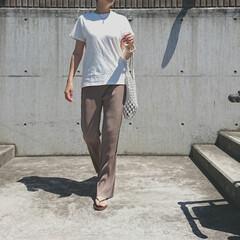 アラフォーコーデ/アラフォーファッション/アラフォーママ/30代コーデ/30代ファッション/長身コーデ/... 少し前の天気の良い日のコーディネートです…