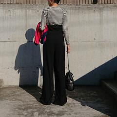 秋コーデ/アラフォーファッション/アラフォー主婦/アラフォーママ/アラフォー/30代コーデ/... 暖かいですね❗ 厚手の羽織りは要らないく…(3枚目)