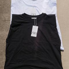 アラフォーママ/アラフォー主婦/ママコーデ/ママファッション/購入品/トレンドファッション/... 今季はよく、肩パッドが入っているTシャツ…
