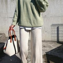 30代コーデ/30代ファッション/アラフォーファッション/アラフォーコーデ/アラフォーママ/アラフォー/... 1月くらいに『UNIQLO』で買ったこの…(2枚目)
