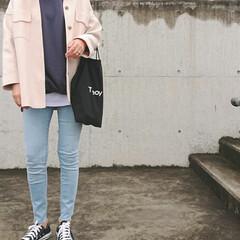 30代ファッション/30代コーデ/アラフォーコーデ/アラフォーファッション/ママコーデ/ママファッション/... このジャケット、先月「しまむら」で購入し…(2枚目)
