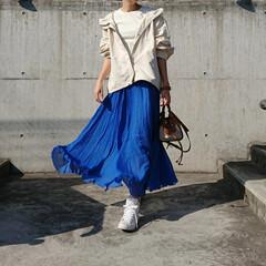アラフォーコーデ/アラフォーファッション/アラフォーママ/アラフォー/30代ファッション/30代コーデ/... 気温が高い日が多くなってきました❗ そん…