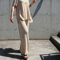 アラフォーママ/アラフォーコーデ/アラフォーファッション/30代ファッション/30代コーデ/長身コーデ/... 最近ずっとお天気悪いですね~💦💦 天気の…(3枚目)