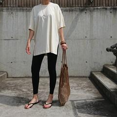 アラフォーファッション/アラフォーママ/アラフォー主婦/30代コーデ/30代ファッション/ママコーデ/... ちょっと前の、ご近所コーデです❗ ワンマ…