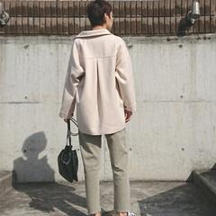 30代ファッション/30代コーデ/ママコーデ/ママファッション/アラフォーファッション/アラフォーコーデ/... 春はいつもより余計に、ボーダー柄を取り入…(2枚目)