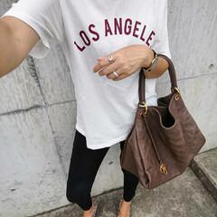 outfitoftheday/coordinate/コーディネート/ファッション/fashion/アラフォー主婦/... 『Laxus』でバッグレンタルしました❗…