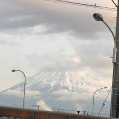 富士山 おはようございます☀  今朝の富士山🗻 …