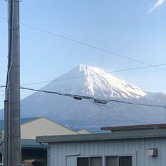 富士山/富士山麓 おはようございます☀ 今朝の富士山🗻 や…