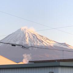 赤富士/富士山 おはようございます☀ 今朝の富士山🗻