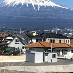 富士山 こんにちは☀️  お昼時の富士山🗻