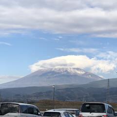 女富士/雪化粧/富士山麓/富士山 今日の富士山🗻  1.2枚目はいつもの場…(5枚目)