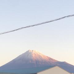 雪化粧/富士山麓/富士山 こんにちは☀️  今朝の富士山🗻  久々…(2枚目)