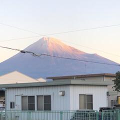 雪化粧/富士山麓/富士山 こんにちは☀️  今朝の富士山🗻  久々…(1枚目)