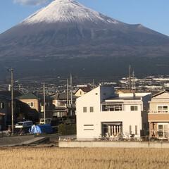 雪化粧/女富士/富士山麓/富士山 こんにちは☀️  今日は今年最後の富士山…