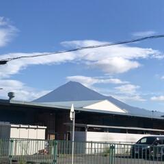 スッキリ!/富士山麓/富士山 おはようございます☀  やっと富士山🗻見…