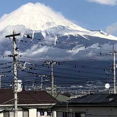 赤富士/富士山 昨日の富士山🗻