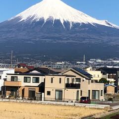 富士山 今日も雄大で綺麗な富士山🗻が見る事が出来…