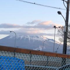 富士山 おはようございます☀  今朝の富士山🗻
