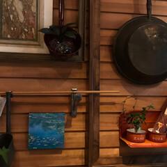 写真/写真映え/装飾/アート/インテリア/キッチン雑貨/... かわいいサイズの モネの睡蓮^ ^  小…