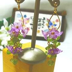 フラワーアクセサリー/creemaで販売中/Creema/minneで販売中/minne/沖縄/... 旅行先の沖縄で見たお花をアクセサリーにし…