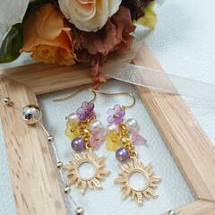プリンセス/creemaで販売中/Creema/minne/minneで販売中/アクセサリー/... Soleil et fleurs~太陽と…