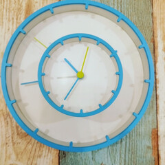 オシャレ/デザイン/シンプル/おしゃれ/置き時計/掛け時計/... 壁掛け時計と置時計のコンビネーション #…