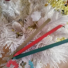 色鉛筆/クリスマス/クリスマス2019 削るち花びらが出来る花色鉛筆クリスマスバ…