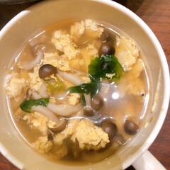 スープ/リミアな暮らし/お家ごはん きのこたっぷり卵スープ  生活の知恵など…