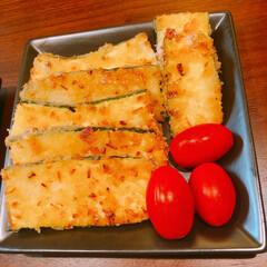 パン粉焼き/ズッキーニ/おうちごはん ズッキーニのパン粉焼き!パン粉にたっぷり…