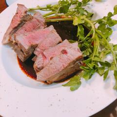 ラム肉/コストコごはん/コストコ コストコのラム肉をステーキにしました。ル…