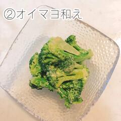 うまい村デイリー 李錦記 オイスターソース 瓶 255g x12(オイスターソース)を使ったクチコミ「ブロッコリー副菜2品目。オイスターソース…」(2枚目)