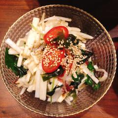 リミアな暮らし/副菜/おうちごはん さっぱりおいしいサラダ!大根とお酢とごま…