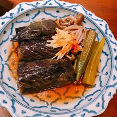 マリネ/おうちごはん/常備菜 ナスの南蛮煮。甘めのお酢を少し入れてさっ…