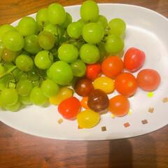 リミアな暮らし/コストコおすすめ/シードレスグレープ/コストコ コストコで買った、ブドウといろいろカラー…
