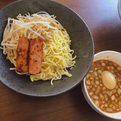 つけ麺/おうちランチ/おうちごはん つけ麺でランチ。お家でご飯食べることが多…