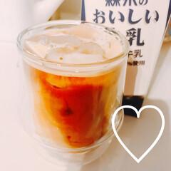 ネスプレッソ コーヒーメーカー イニッシア ルビーレッド C40RE | ネスプレッソ(コーヒーメーカー)を使ったクチコミ「おうちでスタバのフラペチーノみたいなのが…」(5枚目)