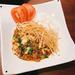 マーボーカレー/麻婆豆腐/おうちごはん マーボーカレー!麻婆豆腐とカレーのあいの…