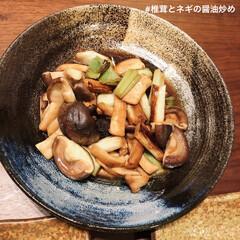 おつまみレシピ/おつまみ/塩さば/コストコ/食事情/お弁当 簡単メニューが大好きです。 ネギと椎茸を…