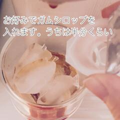 ネスプレッソ コーヒーメーカー イニッシア ルビーレッド C40RE | ネスプレッソ(コーヒーメーカー)を使ったクチコミ「おうちでスタバのフラペチーノみたいなのが…」(3枚目)