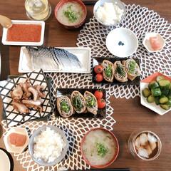 信州そば・抹茶そばセット No20 FB-20(その他スキンケア、フェイスケア)を使ったクチコミ「贅沢ごはん。北海道の実家からイクラやしめ…」
