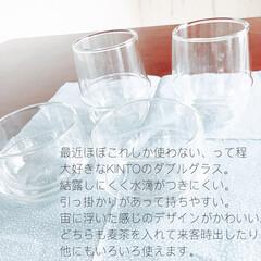 ボダム パヴィーナ ペアダブルウォールグラス 〈4559‐10〉 〈A5〉 食器 お祝い 内祝い お返し 出産内祝い お祝い返しギフト   ボダム(コップ、グラス)を使ったクチコミ「大好きな愛用ダブルグラス。結露ができにく…」(2枚目)