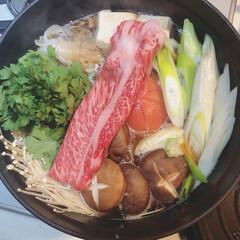 和牛/ふるさと納税/トマトすき焼き/すき焼き すき焼きにはトマトを入れるのにはまってい…